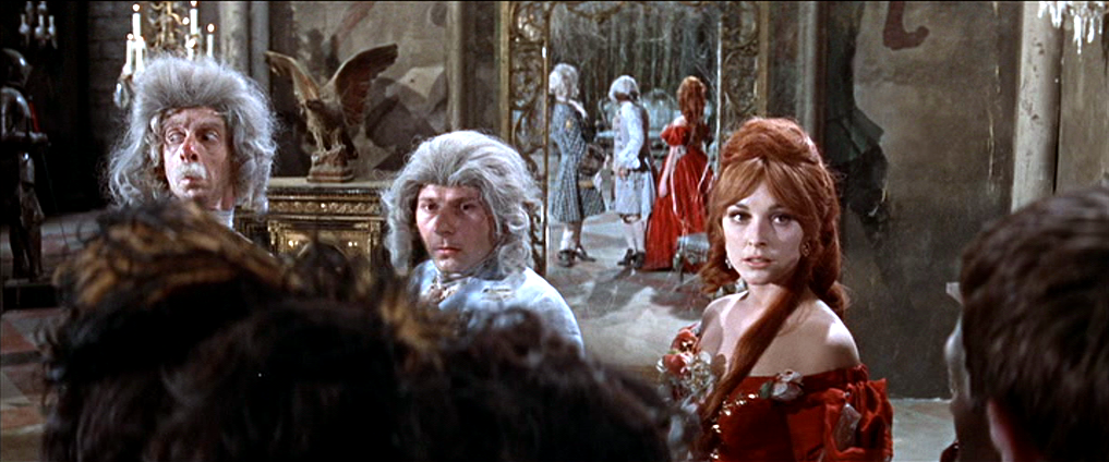 Chilling Scenes of Dreadful Villainy: Daughters of Darkness, Part 26 :  Mirror Ball - Sharon Tate is the main attraction at the vampire ball in  FEARLESS VAMPIRE KILLERS (1967)