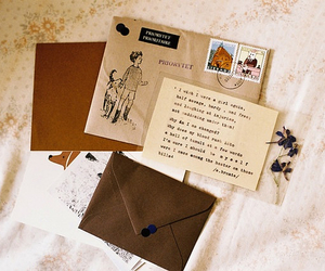 vintage, letters, and indie image