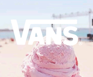 vans, summer, and pink image