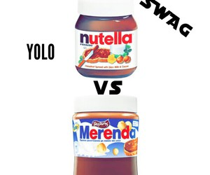 nutella and merenda image