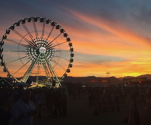 ferris wheel, indie, and travel image