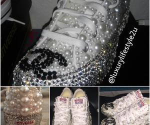 bling, chanel, and converse image