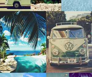 beach, happiness, and hippie image