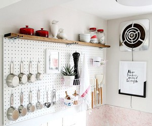 kitchen, organise, and simple image