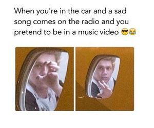 funny, car, and music image