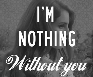 without you and lana del rey image