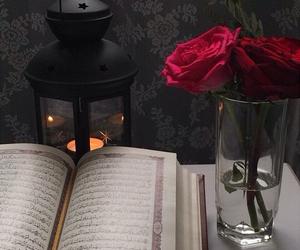rose, islam, and quran image