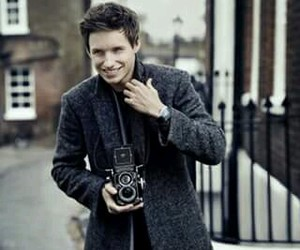 eddie redmayne, handsome, and smile image