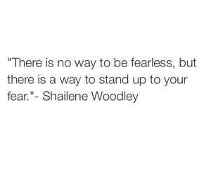 quote and Shailene Woodley image