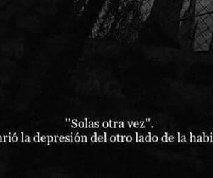 depression, alone, and frases image