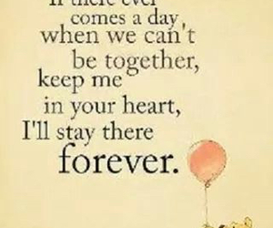 quotes, forever, and winnie the pooh image