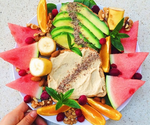 colorful, food, and summer image