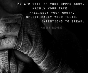 body, fighting, and qoutes image