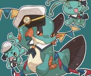fanart, pokemon, and manaphy image