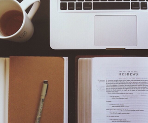 bible, book, and coffee image