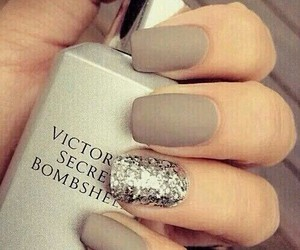 glamour, glitter, and nails image