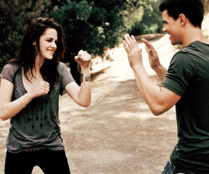 twilight, kristen stewart, and Taylor Lautner image