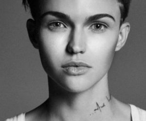 ruby rose, black and white, and oitnb image