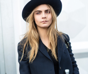 beautiful, rosy, and cara delevingne image