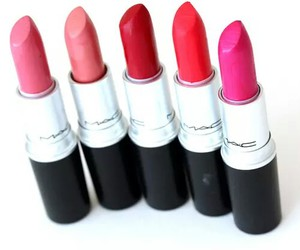 lipstick, mac, and pink image