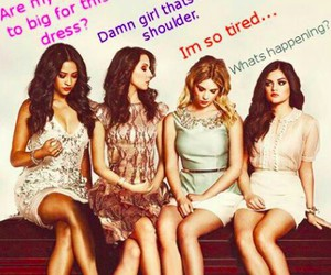 funny, pretty little liars, and emily image