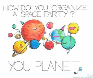 planet, funny, and party image