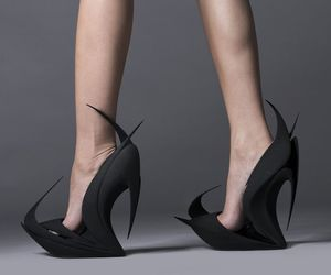design, high heels, and shoes image