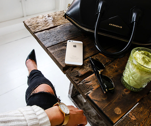 apple, bags, and drinks image