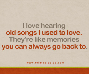 memories, quote, and song image