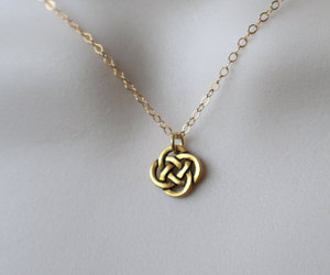 gold necklace, ireland, and st. patricks day image
