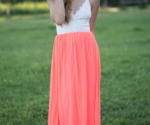 boho, chic, and coral image