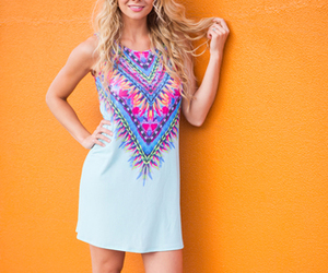 boho, chic, and feather image