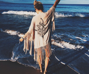 girl, beach, and hipster image