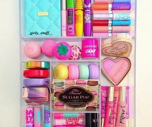 makeup and girly stuff image