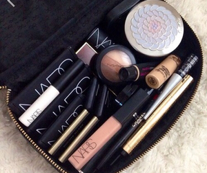 makeup, nars, and mac image