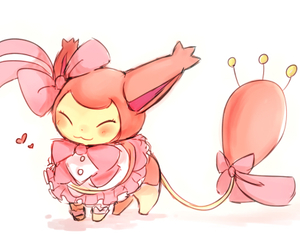 pokemon, cute, and pink image