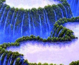 earth, flow, and nature image
