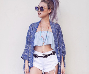 clothes, fashion, and hair style image