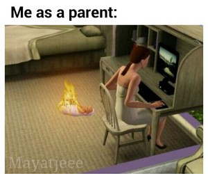 fire, funny, and games image