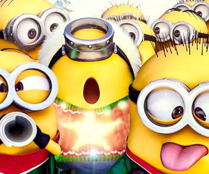 cool, minions, and party image