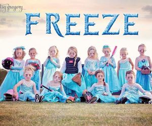 frozen and cute image