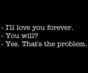 forever and problem: image