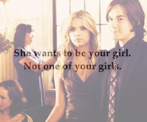 girl, jalousy, and pretty little liars image