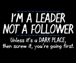 leader, funny, and follower image