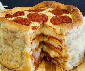 food, want, and pepperoni image