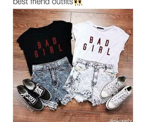 bad, clothes, and best friends image