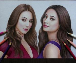 emily, spencer, and pretty little liars image