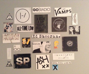 all time low, bands, and decorate image