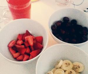 banana, fruit, and grapes image
