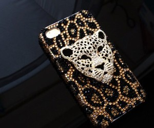 iphone, leopard, and case image